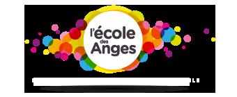 Logo École des anges avec baseline
